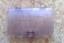 NEU Klar Lila Batteriedeckel Batteriefachdeckel Game Boy Color GBC Clear purple