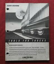 1991 Kent Moore Special Tools For Trucks Peterbilt Mack Kenworth Catalog