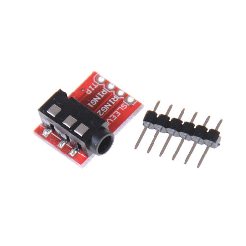 TRRS 3.5mm Jack Breakout Audio Stereo Headphon Microphone Interface ModuHFUK