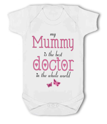My Mummy Baby Vest Cousin is the Best Doctor in the World Auntie