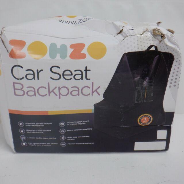 Zohzo Adjustable Padded Bag For Car, Zohzo Adjustable Padded Bag For Car Seat