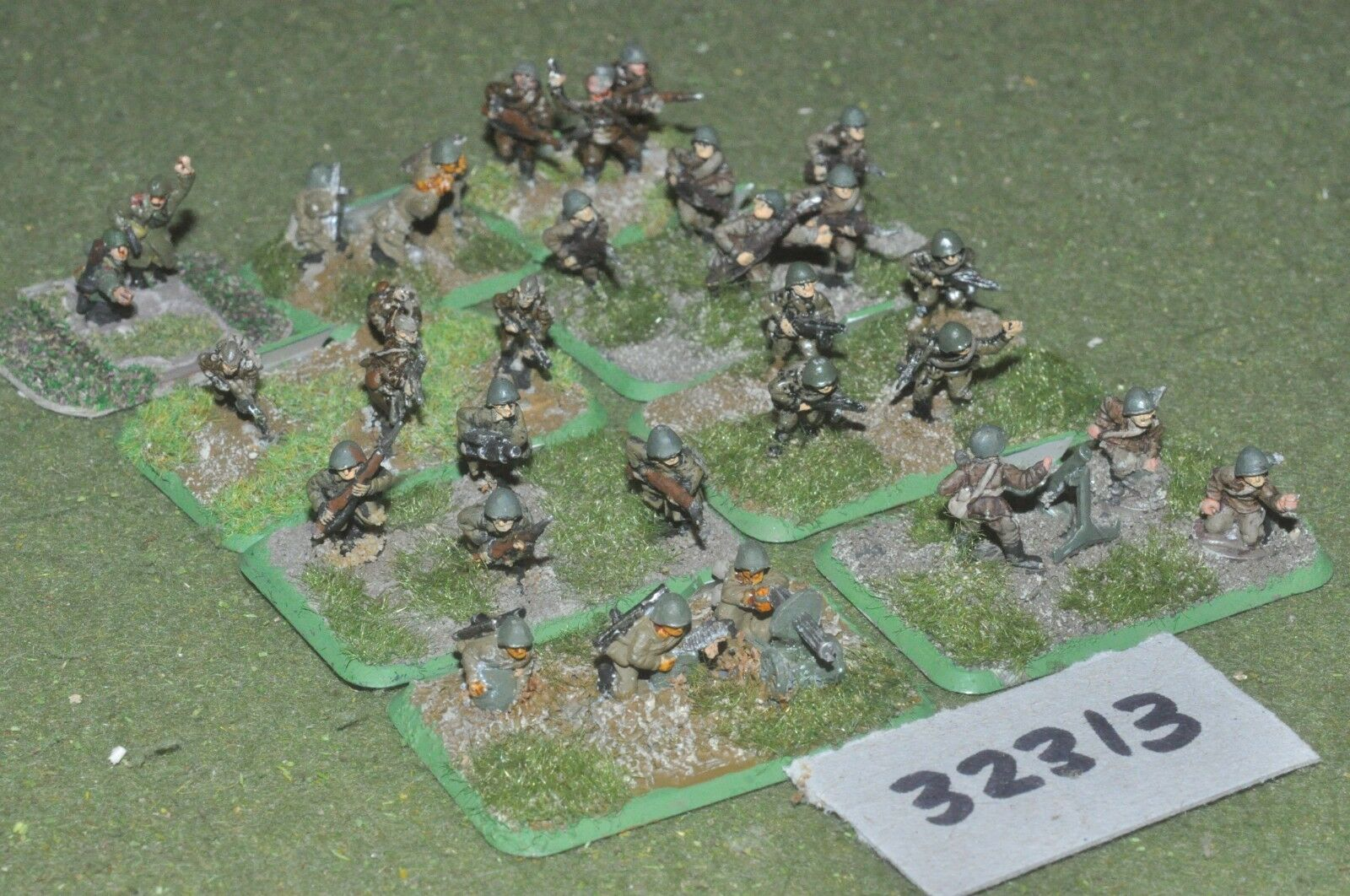 15mm WW2   russian - section 30 figures - inf (32313)