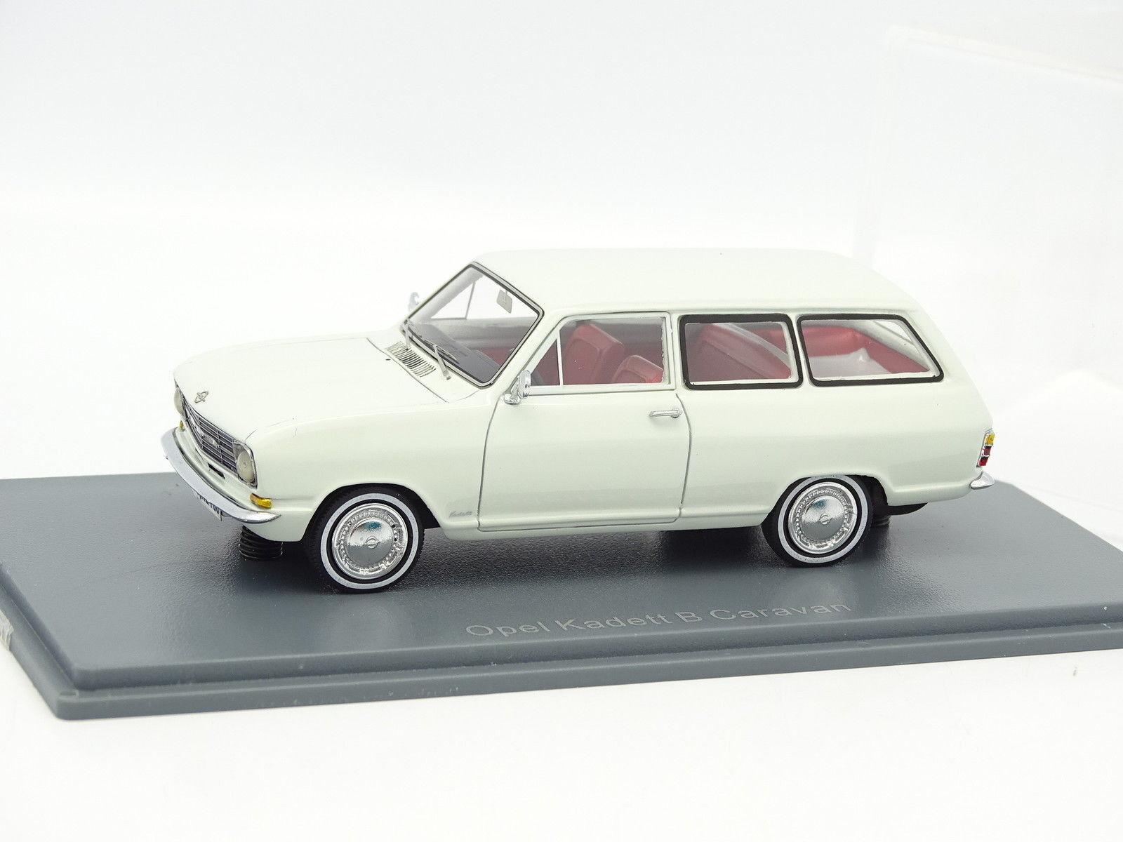 Neo 1 43 - opel kadett b caravan white