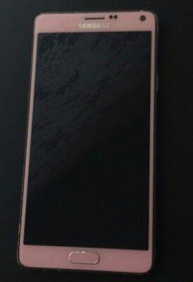 Samsung Galaxy Note 4 SM-N910F - 32GB - Blossom Pink (Unlocked) Smartphone
