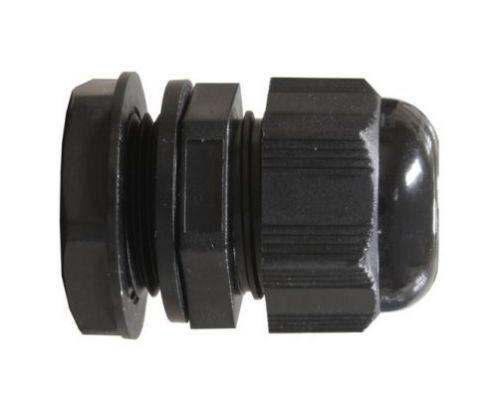 10x 20 mm Nero Impermeabile IP68 compressione TRS Cavo Ripieno Ghiandola Dado di Bloccaggio M20