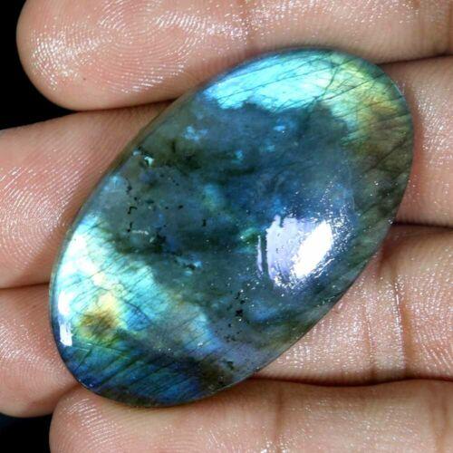 Incendio natural 100/% Natural Esmeralda Labradorita Cab multi piedras preciosas de Flash JJG25