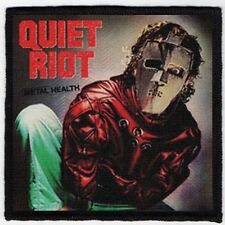 QUIET RIOT PATCH / SPEED-THRASH-BLACK-DEATH METAL