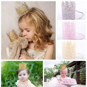 Headdress-Princess-Elastic-Crown-Baby-Headband-Hair-Band-Lace-Flower