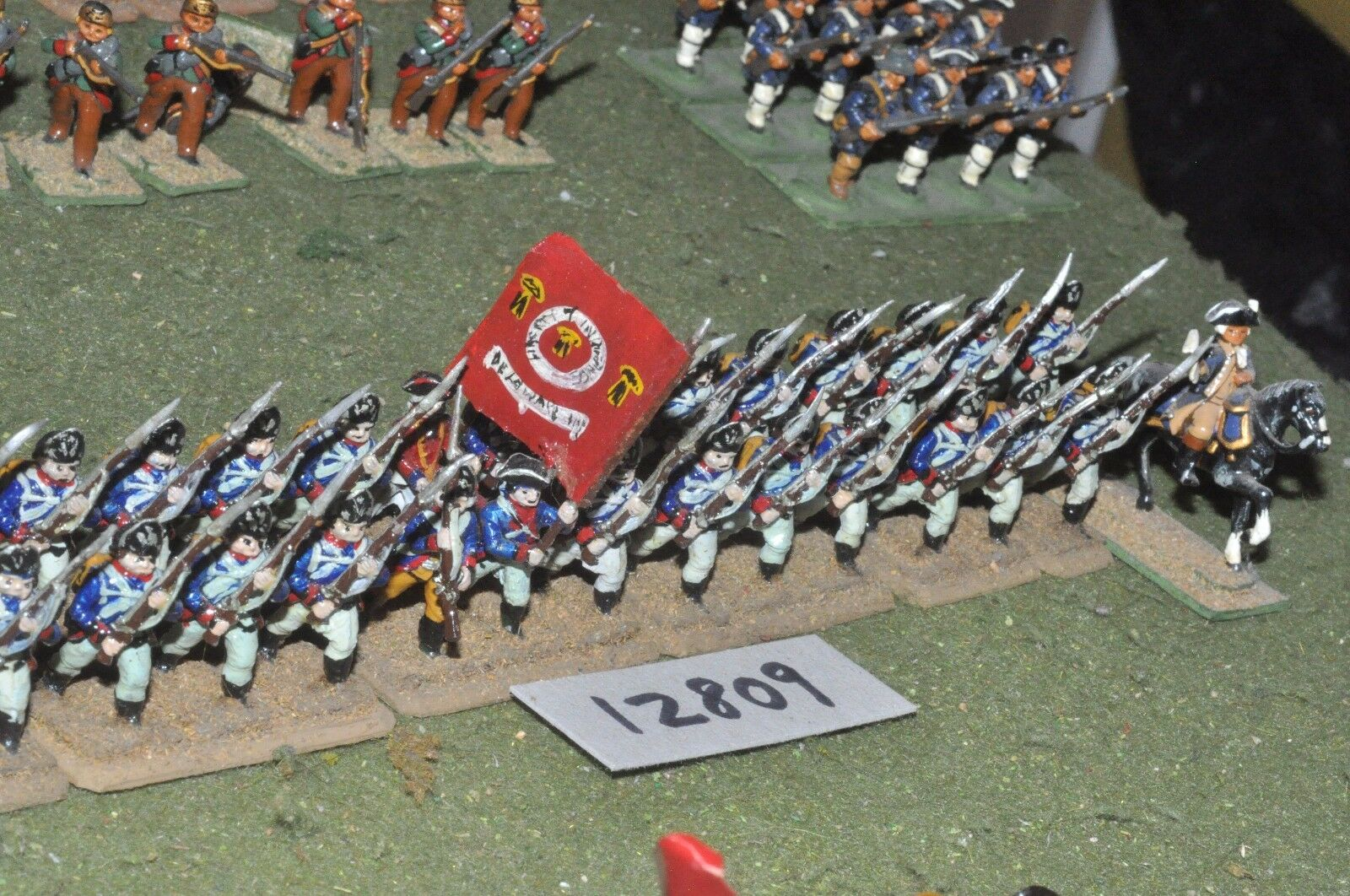25mm AWI   american - infantry 28 figs - inf (12809)