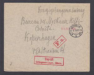 Austria-1915-Censored-Dobeln-POW-cover-to-Moskauer-Hilfskomite-in-Copenhagen