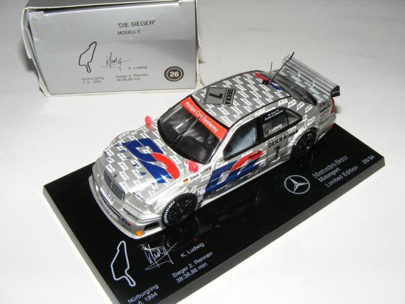 1/43 Minichamps AMG AMG AMG Mercedes C DTM 94  Die Sieger   5 e92f9f