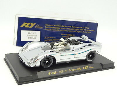 Porsche 908 Cromo Driving A Roaring Trade Spielzeug Kinderrennbahnen Fly Slot Car 1/32
