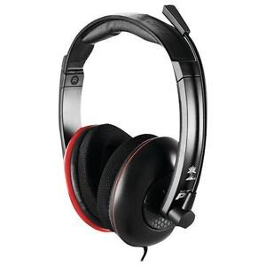 8aebdccf717 Turtle Beach Ear Force P11 Black/Red Headband Headsets for Multi-Platform