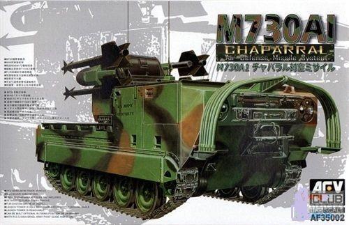 1 35 AFV Club US Army M730A1 Chaparral