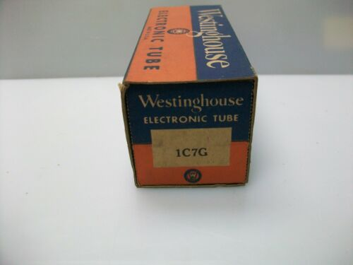 VINTAGE WESTINGHOUSE 1C7G TUBES
