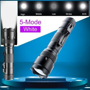 Tactical-WF-502B-T6-Led-3000LM-Flashlight-Camping-Hunting-Torch-Lamp-New