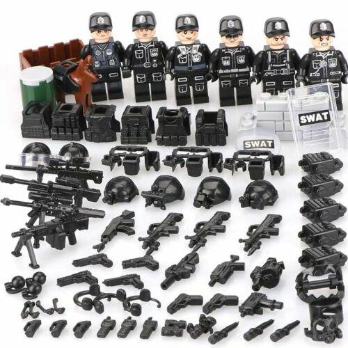WW2 TBS11-16 Armee Soldaten Minifiguren mit Waffen Militärische Sets Fit Lego R5