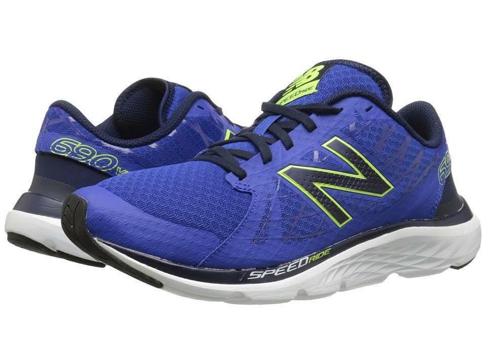 Men New Balance M690LB4 Running Medium bluee Black Yelle 100% Authentic Brand New