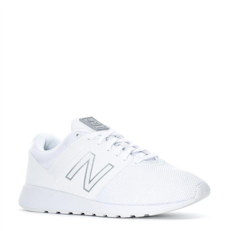 Damens NEU Balance WRL24TB Sneaker Schuhes Medium (B) WEISS Steel 100% Original NEU