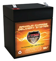 Vmax V06-43 6ah Ups Exide Powerware Prestige 800 12v Battery Replaces 5ah