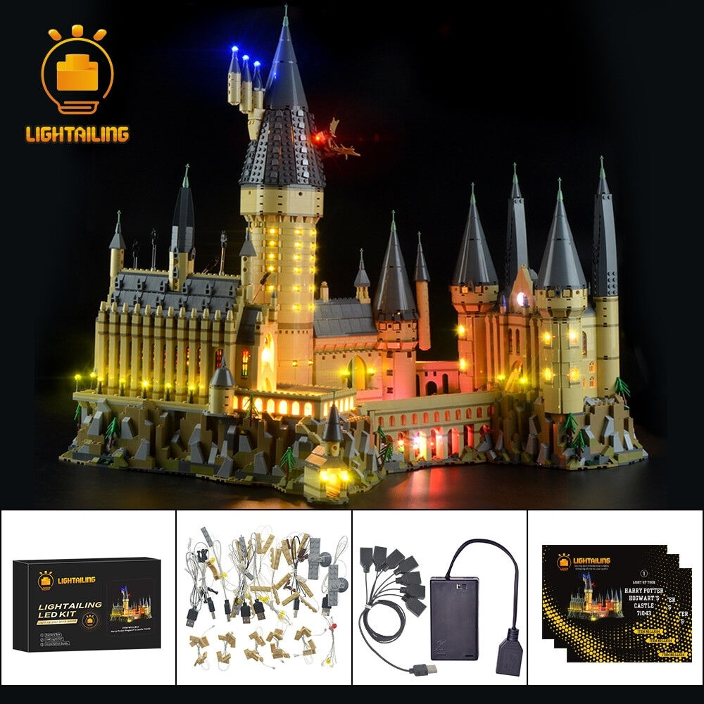 Lightailing-LED luce KIT per costruzioni LEGO 71043 Harry Potter Hogwarts Castle Lighting
