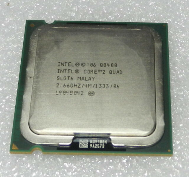 Intel Quad Core Q8400 SLGT6 2.66GHz/4M/1333 Socket LGA775 CPU
