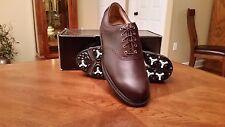 Footjoy Custom FJ ICON MyJoys Mens Golf Shoes 52010 NEW BRN Saddle 10W  $349 Ret