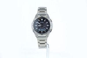 Casio-Mens-Wave-Ceptor-Black-Dial-Titanium-Watch-WVA-M640TD-1AER