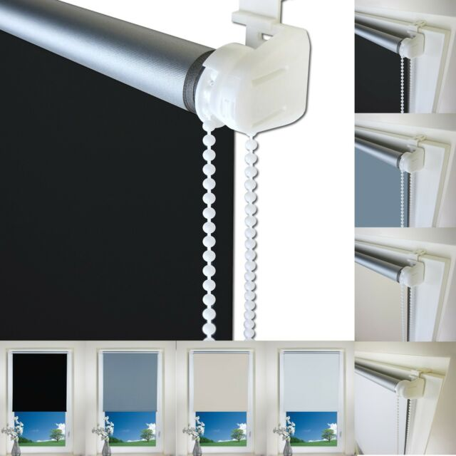Fix-Clic Thermo Blackout Store Volets Obscurcissant Latéral Rollon de Serrage