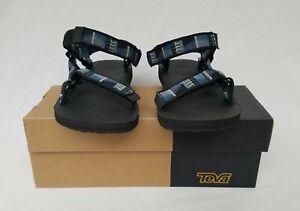 New-Men-039-s-Teva-Original-Universal-Sandals-Peaks-Black