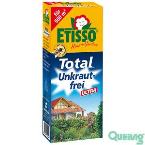 ETISSO-Total-Unkraut-frei-Ultra-250-ml-Unkrautvernichter-Glyphosat-500-qm
