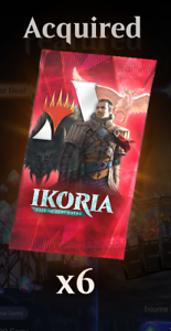 MTG-Arena-Code-for-6-Booster-Packs-of-Ikoria-Lair-of-Behemoths-1200-Gem-Value