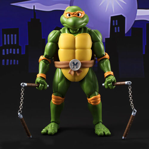 Bandai Teenage Mutant Ninja Turtles TMNT Michelangelo SH Figuarts Action Figures