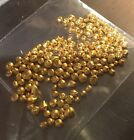5 GRAINS .999 CLEAN PURE FINE 24K GOLD SHOT, ROUND NUGGET, BULLION, NOT SCRAP