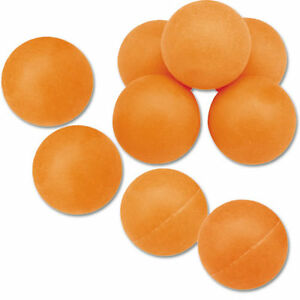 Orange Recreational Table Tennis Balls - Pack of 144