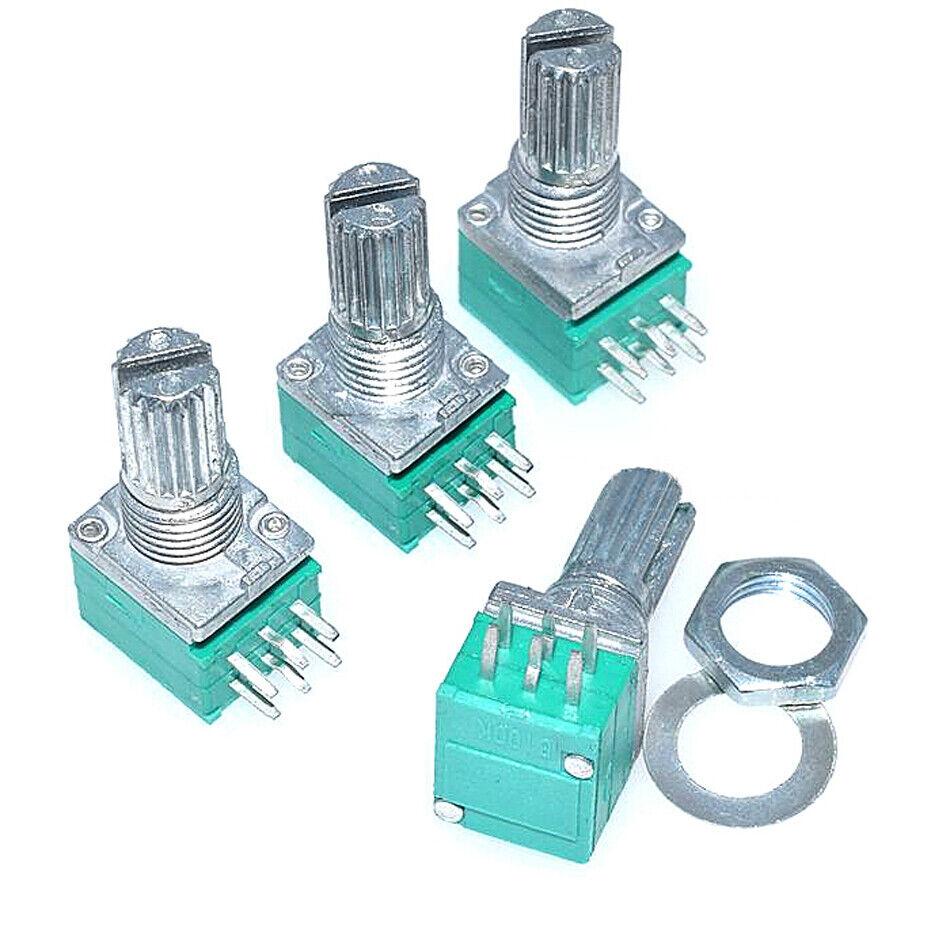 6-Pin RK097G Estéreo Amplificador Lineal Potenciómetro B5//10//20//50//100K Interruptor de Audio