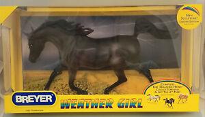 Breyer-1462-Thunderstorm-Weather-Girl-Black-Arabian-Mare-Model-Horse-NIB