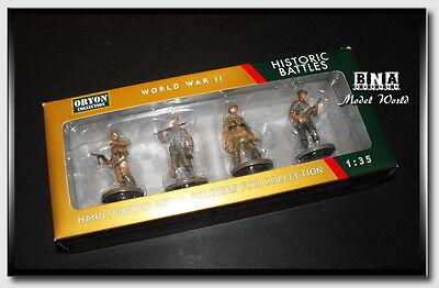 """Oryon 1/35 """"SICILY"""" German Panzer Grenadiers US Infantry (Metal Figures) #3011"""