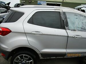 Details About 2017 Ford Ecosport Door Driver Side Rear Moondust Silver M619