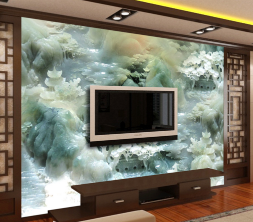 3D Grün Stone Carvings 33 Paper Wall Print Wall Decal Wall Deco Indoor Murals
