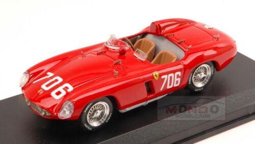 Ferrari 750 Monza #706 Dnf Mille Miglia 1955 Protti-Zanini 1:43 Art Model ART150