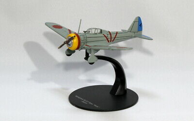 DeAgostini WW2 Aircraft Collection Fighter 1//72 Nakajima Ki-27 NATE Japan #26