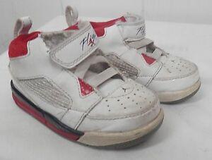 half off 93c3f 6fc70 Image is loading NIKE-Jordan-Flight-9-Toddler-Basketball-Shoe-White-