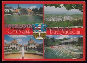 269-O-AK-Ansichtskarte-Gruss-aus-Bad-Nauheim-4-verschiedene-Motive-Hessen