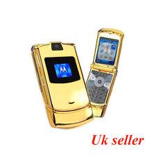 MOTOROLA Razr V3i-Oro (Sbloccato) venditore del Regno Unito