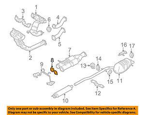 GM OEM Exhaust-Catalytic Cnvrtr Gasket 25776344