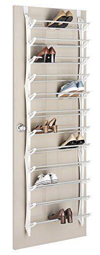 Over the Door Shoe Rack Store up to 36 Pairs of Men /& Women Shoes