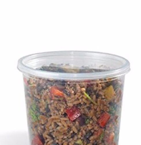 24 Oz Deli Container Base Lids Are Sold Separately 500//Cs Placon RD 24C