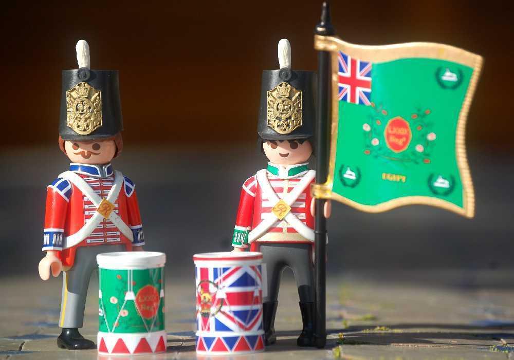 Stickers Soldados Ingleses - Pliegos De Batallones - British Soldiers