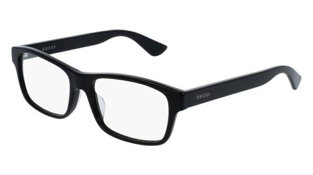 NEW Gucci Urban GG 0006OA Eyeglasses 001 Black 100% AUTHENTIC